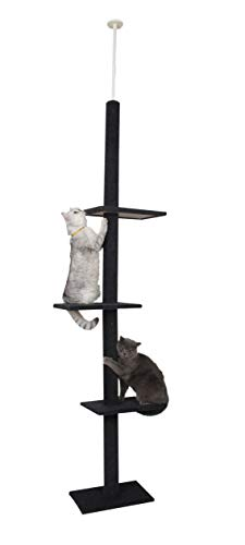 """Cat Craft Three-Tier Cat Tree (90""""-108"""") 