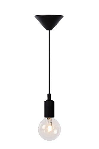 Lucide FIX - Suspension - Ø 10 cm - Noir