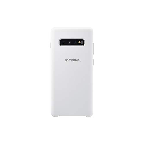 Samsung Silicone Cover, funda oficial para Samsung Galaxy 10+, color verde