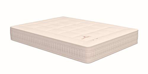 NATURALIA - Colchón termoswiss Plus visco, Talla 150x190cm, Color Blanco