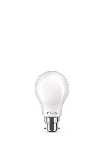 Philips Lighting Lampadina LED Classic, Equivalente a 40W, Attacco B22, Luce Bianca Calda, non Dimmerabile