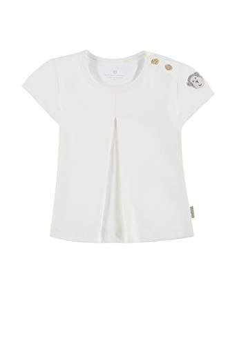 Bellybutton mother nature & me T- Shirt 1/4 Arm, Blanc (Cloud Dancer|White 1610), 86 Bébé Fille