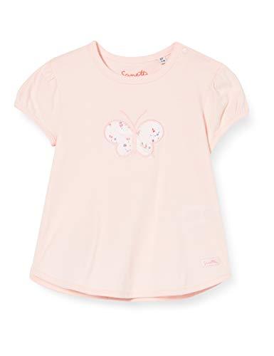 Sanetta Baby-Mädchen Fiftyseven T-Shirt, Rosa (Blossom Rose 38098), 92 (Herstellergröße: 092)