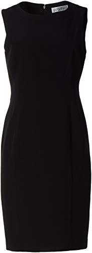 Kasper Women's Sleeveless Sheath Dress, Black, 14