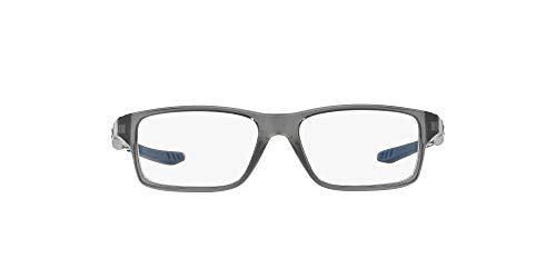 Oakley Crosslink XS Montature, Grigio (Polished Grey Smoke), 49 Uomo