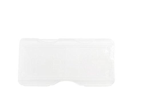 9pcs Microscope Glass Holder Slide Box for one Slide