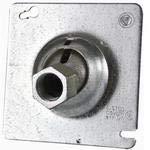 Appleton 8458R Ball Type Swivel Hanger, Fixture Stem Size: 1/2', Metallic