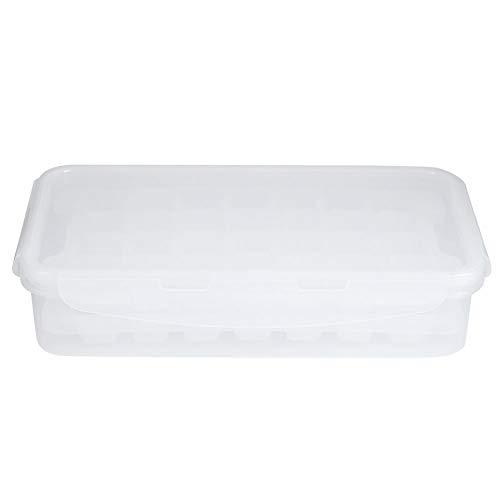 Molde de hielo de 56 rejillas Cubitos de hielo para el hogar Bandeja para moldes Máquina de hielo con caja de almacenamiento y tapa Accesorios de cocina