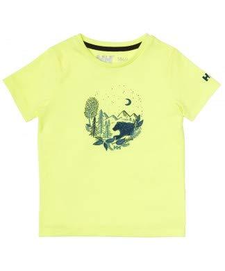 Helly Hansen Graphic Qd T-Shirt Camiseta, Unisex Adulto, Amarillo, 2