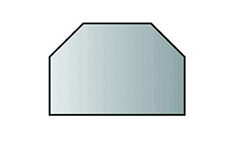 Lienbacher Glasbodenplatte Glasvorlegeplatte Saisonplatte 6mm 100cm x 55cm (Sechseck)