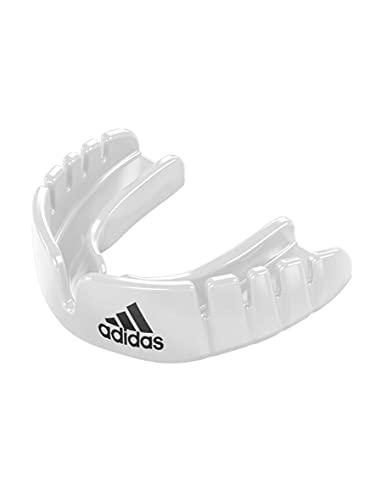 adidas Unisex– Erwachsene OPRO Gen4 Snap-Fit Mundschutz, Weiß, Senior
