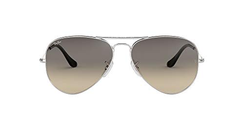 Ray-Ban MOD. 3025 Ray-Ban Sonnenbrille Mod. 3025 Aviator Sonnenbrille 55, Silber