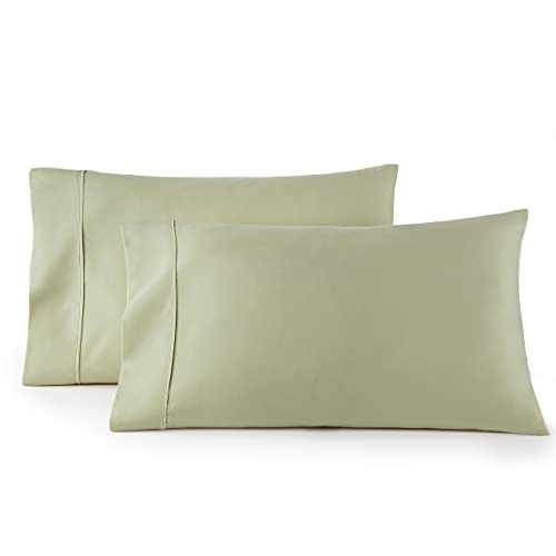 HC COLLECTION Pillow Cases - Set of 2 King Size Pillowcases,