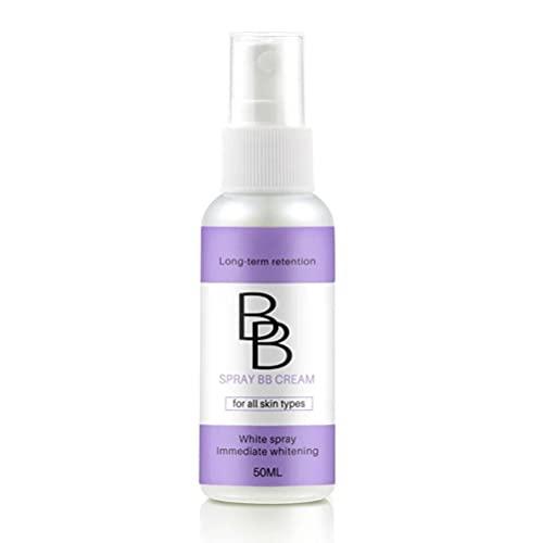 hgni BB-Sahne-Spray-Hautweiß-Spray-Sonnenschutz-Spray SPF 50 Nicht fettiger Sonnencreme tragbare Körper Sonnencreme Best Whitening Sunscreen Concealer Founding...