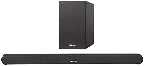 Toshiba TY-WSB600 Soundbar Schwarz Bluetooth®, inkl. kabellosem Subwoofer, USB