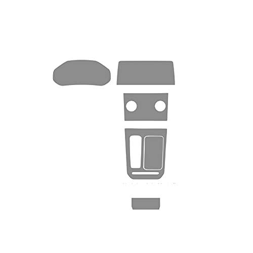 HUANGRONG Coche Alta Transparencia Interiores Accesorios 2017 TPU Coche Gear Dashboard GPS Navegación Pantalla de película Pegatina Protectora para Chery Tiggo 8 2018 2019 2020 Anti-Scratch
