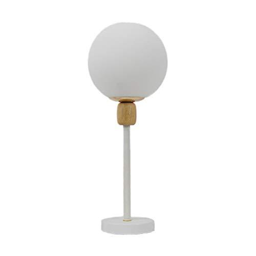 Tafellamp bureaulamp, modern, eenvoudige glazen bol, tafellamp, slaapkamer, bedlampje, creatieve persoonlijkheid, kleine lamp