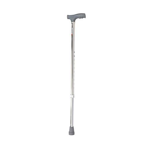 Verstelbare opvouwbare wandelstok, lichtgewicht in hoogte verstelbare wandelstok, draagbaar stok met ergonomisch handvat