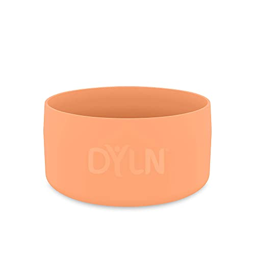 DYLN Protective Silicone X-Small Bottom Guard for 16 oz & 21 oz DYLN Standard Mouth Alkaline Water Bottles - Anti-Slip & Flexible Boot - Doubles as a Pet Dog Bowl - Living Coral