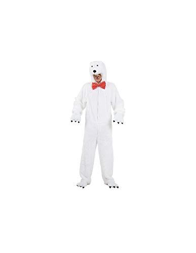 DISBACANAL Disfraces de Oso Polar Adulto - -, XL