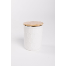 HOME: Small Stoneware Jar with Bamboo Lid – Piper & Scoot