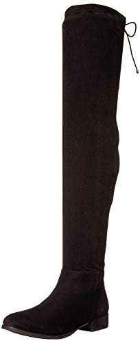 Chinese Laundry Women's Richie Over The Knee Boot, Black Suede, 6.5 M US