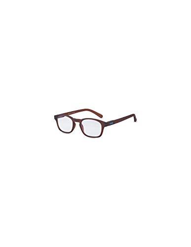 PEGASO F01.15-Gafas Proteccion Gama GRADUADAS LUZ Azul Modelo F01 Glazed Wood Brown +1,5 Diop, Negro, L