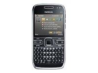 Nokia E72 Smartphone (GPS, MP3, WLAN, Bluetooth, Kamera mit 5 MP, Ovi Karten, QWERTZ-Tastatur) zodium black