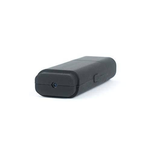 Nanotrix® Pluto S2 HD Mini USB Kamera mit Bewegungsmelder Videokamera mit Video und Ton Aufzeichnung Spycam