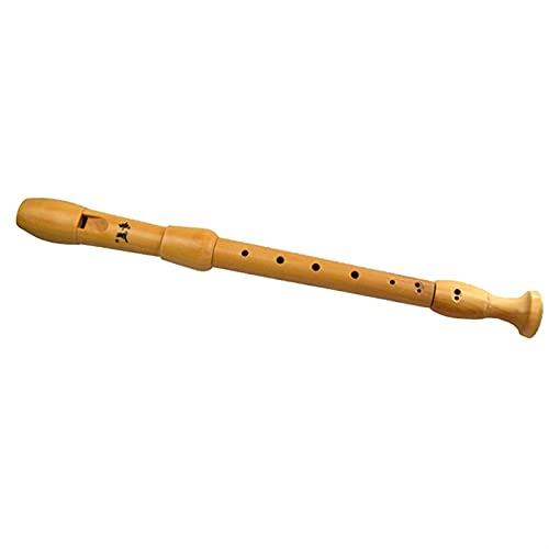 TOPHUHAI 8 Fori Alto F Maple Wood Wood Flauto Style Recorder Italiano Stile Inglese Strumenti...