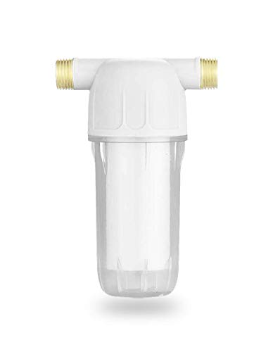 """Reusable Sediment Spin Down Replacement Water Pre Filter 10Micron,10GPM,1/2""""MNPT,for Hot Water System,Kitchen,Dishwasher and Water Operated Equipment"""