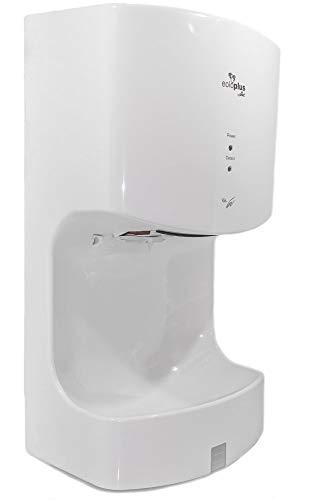 plikc EOLO Plus - Asciugamani Elettrico a Lama d'Aria con fotocellula e vaschetta Salva Goccia