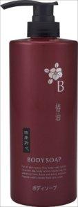 【熊野油脂】【四季折々】四季折々 椿油ボディソープボトル600ML【600ML】×16点セット (4513574017269)