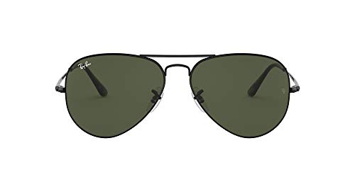 Ray-Ban 0RB3689 Gafas de sol, Black, 58 Unisex