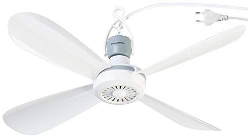 PEARL Ventilator: Mobiler Deckenventilator VT-145.D, 230 Volt, mit Aufhänger, Ø 40 cm (Leichter Deckenventilator)