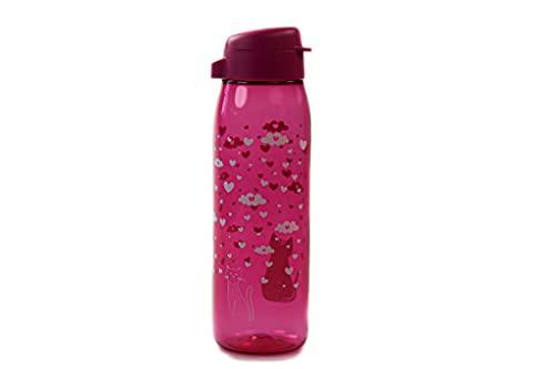 TUPPERWARE Botella Ecológica Elegancia 750ml rosa 'Amor'