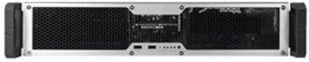 CHENBRO Case RM24100-L 2U Rackmount 18inch 2.5/3.5inch HDD USB 2.0 ATX Server Chassis Retail