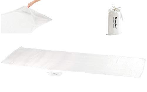 Semptec Urban Survival Technology Schlafsack Seide: Seidenschlafsack aus 100% Habotai-Seide (Hüttenschlafsack) (Schlafsack Inlett)