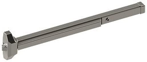 Hager 4700 Series Stainless Steel/Zinc Grade 2 Standard Duty Rim Type Exit Device, 36