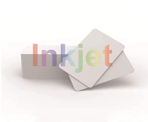 NFC Card 10 x Inkjet PVC NFC Karten NTAG215 NFC Tags Bedruckbar Kompatible Mit Epson & Canon Inkjet Drucker, CR80 30MIL,Kompatible Mit Amiibo und TagMo - Timeskey NFC