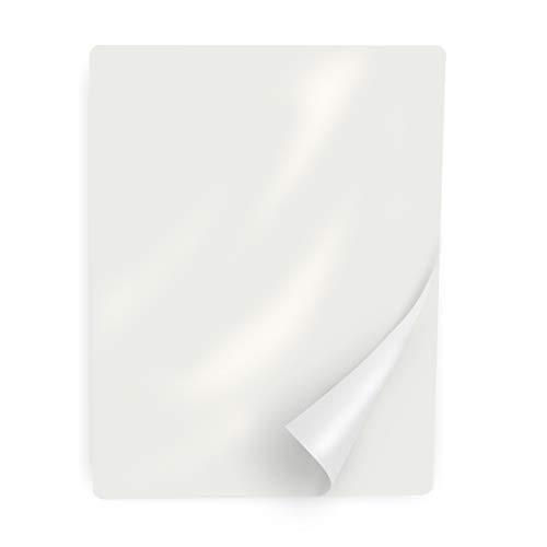Ultraoffice Fundas para plastificar DIN A4, brillo, 100 unidades, 75 micras, para plastificadoras como Laminator, protegen de forma duradera documentos, menús y más