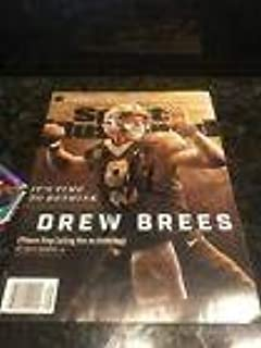 DREW BREES NEW ORLEANS SAINTS SPORTS ILLUSTRATED Signed Autograph - Autographed NFL Magazines