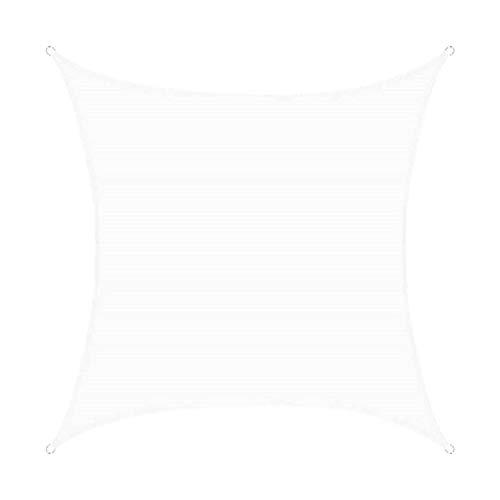 ZXSZX Vela Solar, Protección UV/Impermeable, Toldo Al Aire Libre, Terraza, Jardín, con Cuerdas, Rectangular,02-4m*6m