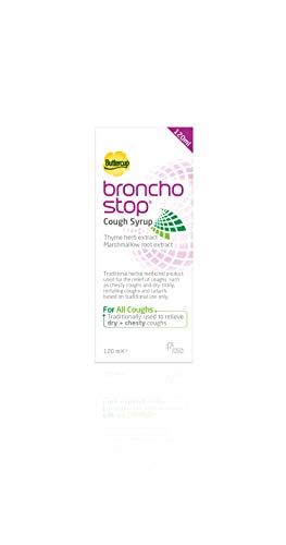 Bronchostop Cough Syrup - For the Relief of Any Cough - 120 ml