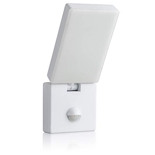 SEBSON Lampada da Parete Esterno con Sensore di Movimento IP65, Bianco, 15W, 900lm, Bianco Freddo 5800K, Orientabile