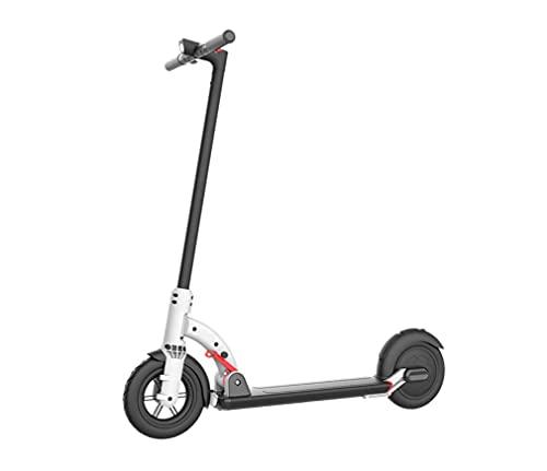 "Patinete electrico | E way | E-Scooter Plegable | Patinete eléctrico Adultos | Motor 250w | Peso 11,5Kg | Velocidad 15Km/h | Rueda 8.5"" | Patinete Scooter Blanco."