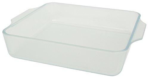 アデリア 耐熱ガラス グラタン皿 1400ml こびりつきにくい容器 セラベイク スクエアロースターM 電子レンジ・オーブン対応 K-9427