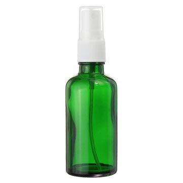 TuToy 15/30 / 50Ml Mini Pulvérisateur Vert Pulvérisateur Bouteille Rechargeable Conteneur W/Drop \U0026 Spray Pour Parfum Aromathérapie Essential Oi T