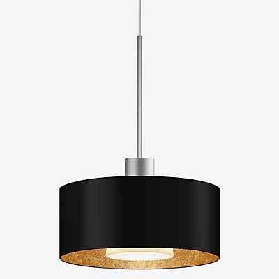 Bruck Cantara Metall Pendelleuchte LED Duolare - ø19 cm, weiß, weiß