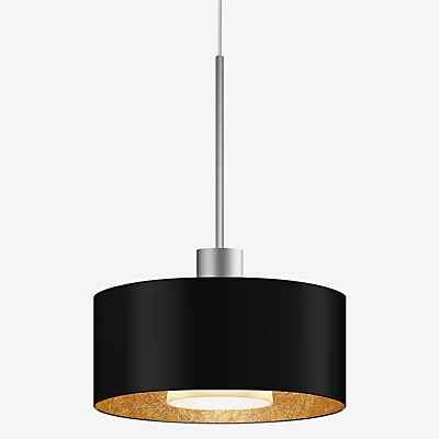 Bruck Cantara Metall Pendelleuchte LED Duolare - ø19 cm, chrom matt, weiß